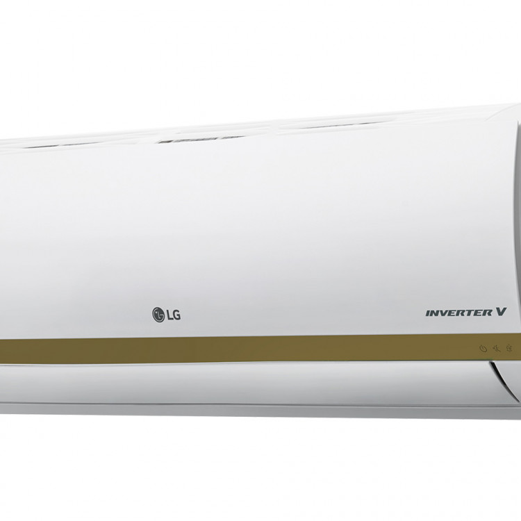Lg Smart Inverter 9000btu(gold Fin) A/c With Installation Kit*call 7463329*